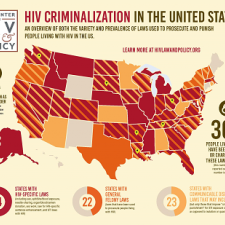 Map HIV Criminalization In The United States The Center For HIV - Hiv us map