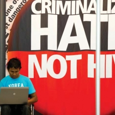 Criminalize Hate Not HIV