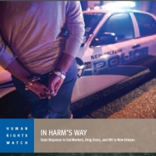 In Harm's Way - Cover