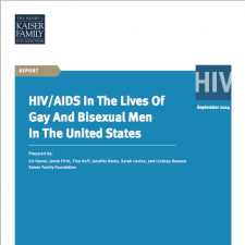 HIV/AIDS in the Lives of Gay and Bisexual Men in the United States